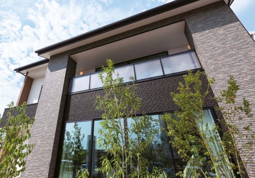 Вентилируемые фасады из Японии